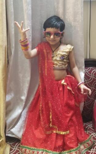 Myra as Radha