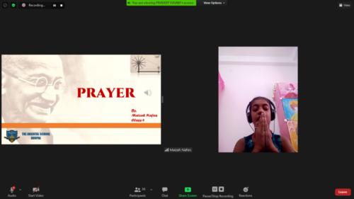 Maizah-Prayer