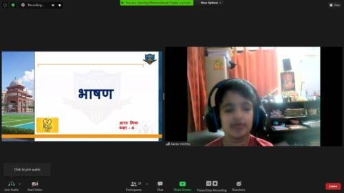 Speech by Arnav
